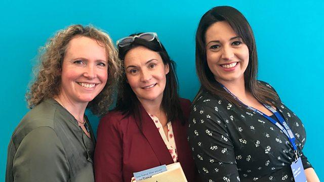 Pennie hosts at Edinburgh International Book Festival